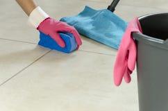 Ежедневная чистка дома Стоковое Фото