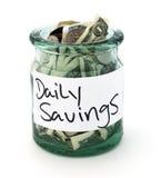 Ежедневные сбережения стоковые фото