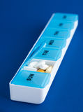 Ежедневные meds и витамины стоковое фото rf
