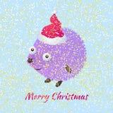 Еж рождества Стоковые Фотографии RF