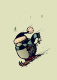 Еж лыжника Стоковое Фото