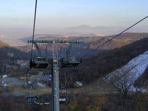 езда Веревочк-пути в Армении стоковое фото rf