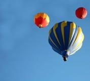 езда воздушного шара горячая Стоковая Фотография