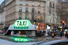 Езда в Париже Стоковые Изображения