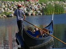 езда гондолы Стоковое Фото