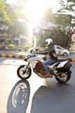 Езда Индия дня республики Ducati стоковое фото