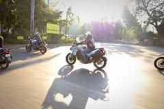 Езда Индия дня республики Ducati стоковые фото