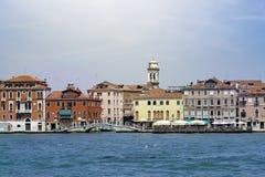 Езда канала Giudecca, Венеция, Италия стоковое изображение