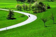 езда мотовелосипеда Стоковая Фотография RF