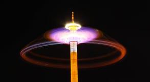 езда ночи масленицы Стоковая Фотография RF
