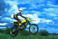 езда облаков Стоковая Фотография RF
