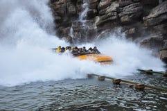 езда парка брызгая воду темы Стоковые Изображения