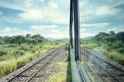 Езда поезда стоковое изображение rf