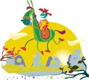 езда страны Стоковое Изображение RF