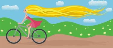езда иллюстрация штока