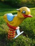 езда s спортивной площадки малыша цыпленока Стоковые Изображения RF