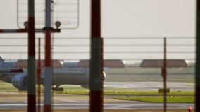 Ездить на такси Etihad Боинга 787 Dreamliner видеоматериал