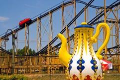 Езды парка атракционов стоковая фотография rf