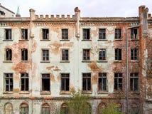 дезертированная дом старая Стоковое Фото