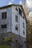 дезертированная дом Стоковое Фото