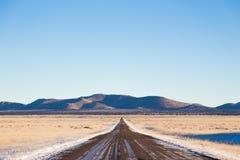 дезертированная дорога Стоковое Изображение RF