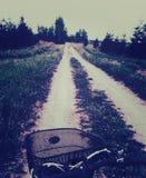 Езда велосипеда стоковые изображения rf
