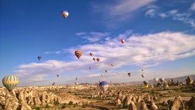 Езда воздушного шара Турции Стоковые Изображения