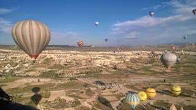 Езда 2 воздушного шара Турции Стоковое фото RF