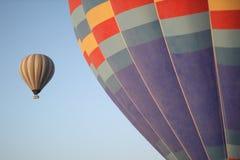 Езда воздушного шара стоковое изображение