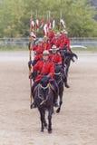 Езда в Ancaster, Онтарио RCMP музыкальная Стоковое Фото