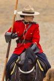 Езда в Ancaster, Онтарио RCMP музыкальная Стоковые Изображения RF