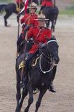 Езда в Ancaster, Онтарио RCMP музыкальная Стоковая Фотография