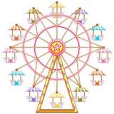 Езда колеса ferris Стоковое Изображение RF
