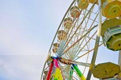 Езда колеса Ferris Стоковое фото RF