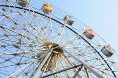 Езда колеса Ferris Стоковые Изображения