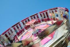 езда парка атракционов Стоковая Фотография RF