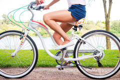Езда парка Стоковая Фотография