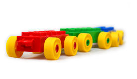 Езда поезда игрушки Стоковые Фото