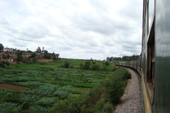 Езда поезда к Dali Стоковая Фотография RF