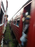 Езда поезда Стоковые Фотографии RF