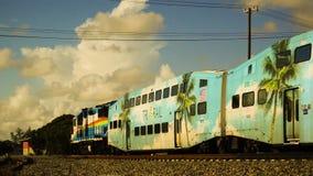 Езда поезда акции видеоматериалы
