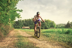 езда сельской местности Стоковое фото RF