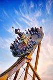 Езда тематического парка Стоковое фото RF
