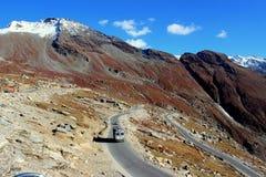 Езда для гордости через Гималаи Стоковое Изображение RF