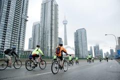 Езда для сердца в Торонто Стоковое Изображение RF