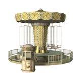 Езда carousel качания Стоковые Изображения