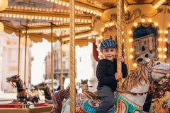 Езда Carousel Стоковое Фото
