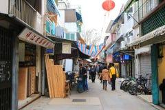 3-ей chau 2010 cheung Hong Kong -го село фото в декабре главной принятое улицей стоковое фото rf
