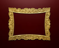 декоративное изображение рамки Стоковая Фотография RF