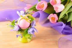 декоративное пасхальное яйцо Стоковое фото RF